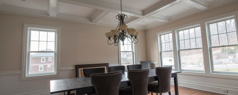 Inside view from dining room by general contractors near me in Kinnelon, NJ