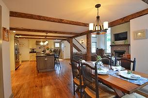 Images of living room slash kitchen by home remodelers in Upper Saddle River, NJ