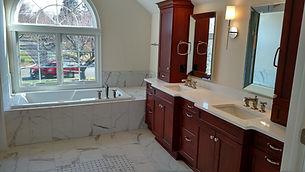 Stunning bathroom by home builders in Kinnelon, NJ