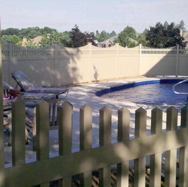 ActiveYards vinyl fence in Saddle River, NJ