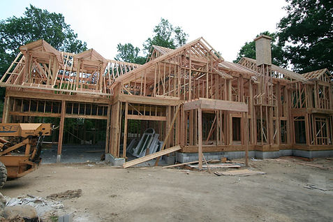 Home being built by home builders in North Caldwell, NJ