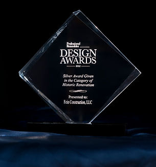 Award of design for home builders in North Caldwell, NJ