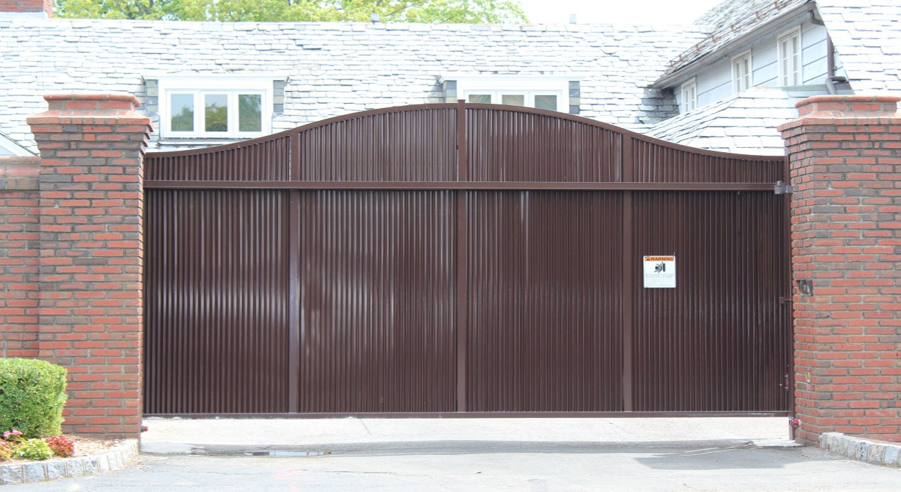 Modern automatic gate opener in Westchester County, NY