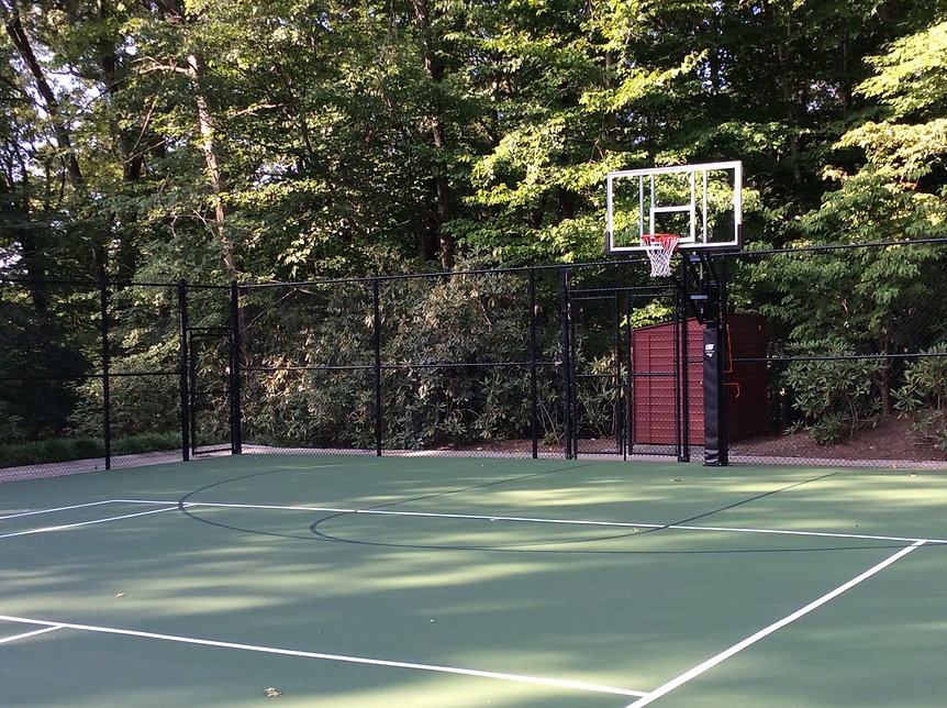 Commercial fencing for sports courts in Mendham NJ
