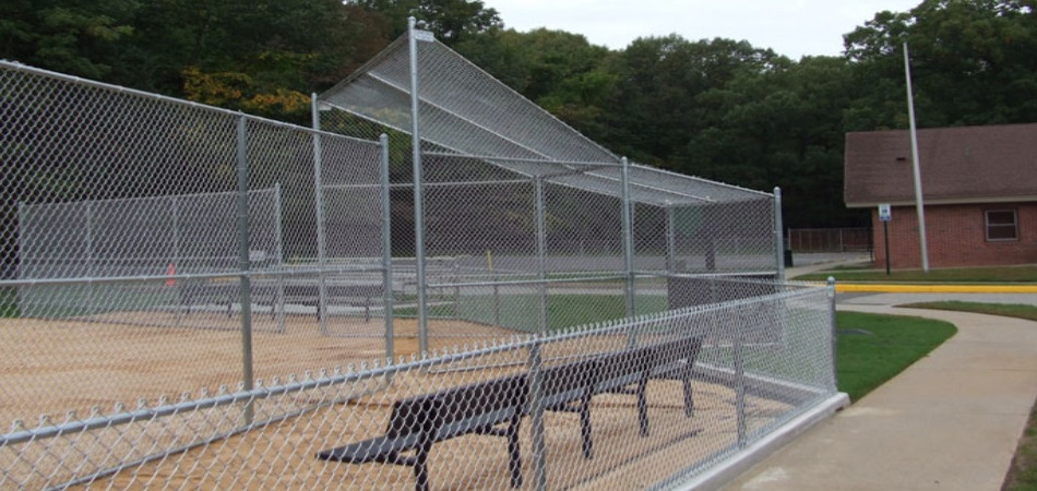 Sport courts chain link fence in Tewksbury and Franklin Lakes, NJ