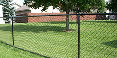 Residential chain link fence installation Tewksbury NJ