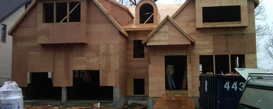 Progress of house made by general contractors near me in Ridgewood, New Jersey