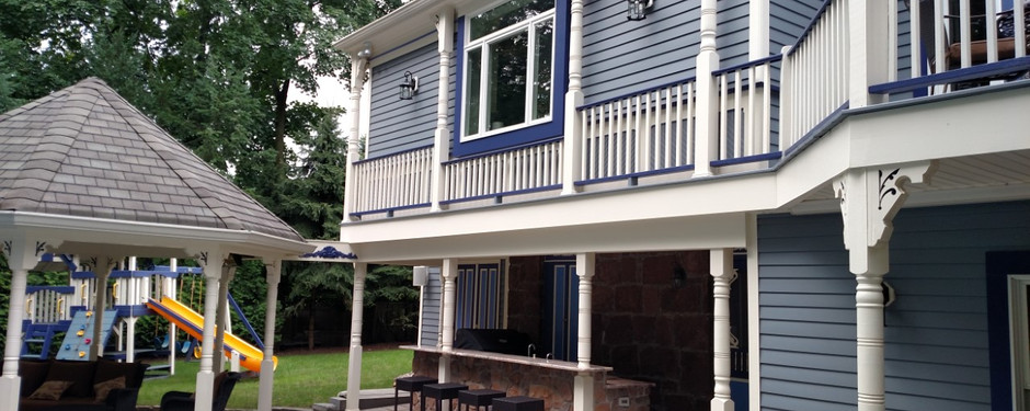 Exterior of home by home builders in Kinnelon, New Jersey