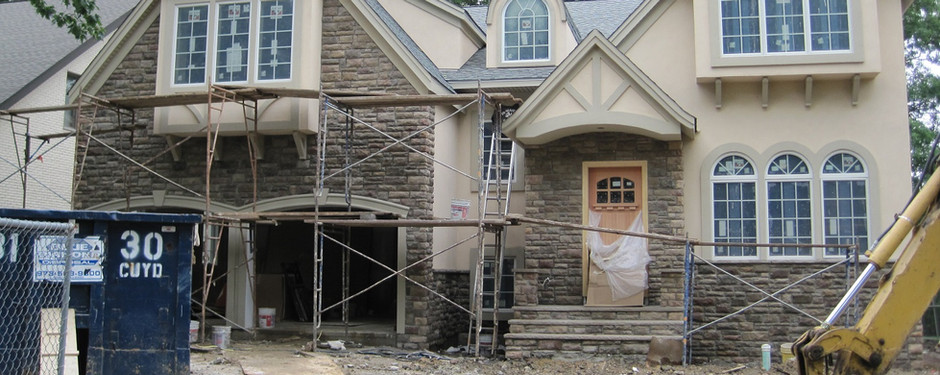 Almost done house by home remodelers in Ridgewood, NJ