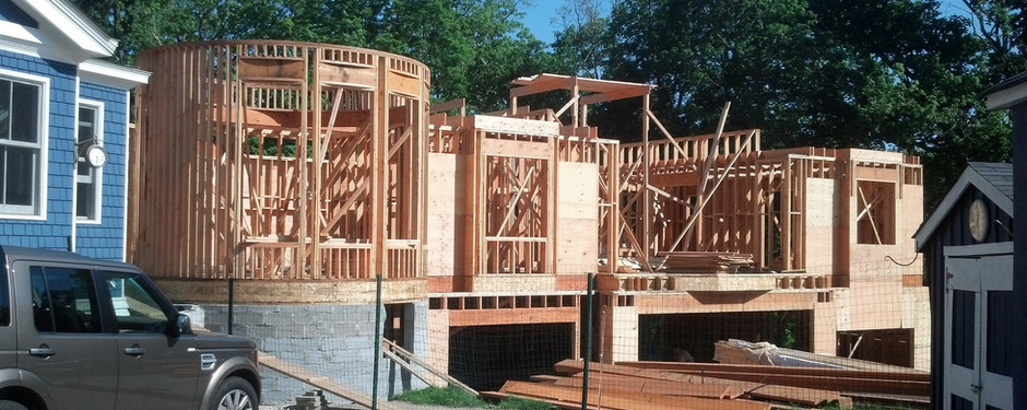 Under construction home by home builders in Mountain Lakes, NJ