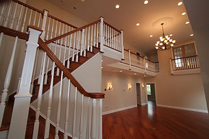Beautiful staircase by home remodelers in Kinnelon, NJ