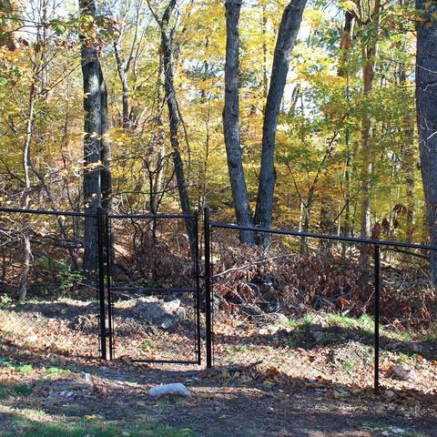 Deer fence - chaink link fence in Tewksbury NJ