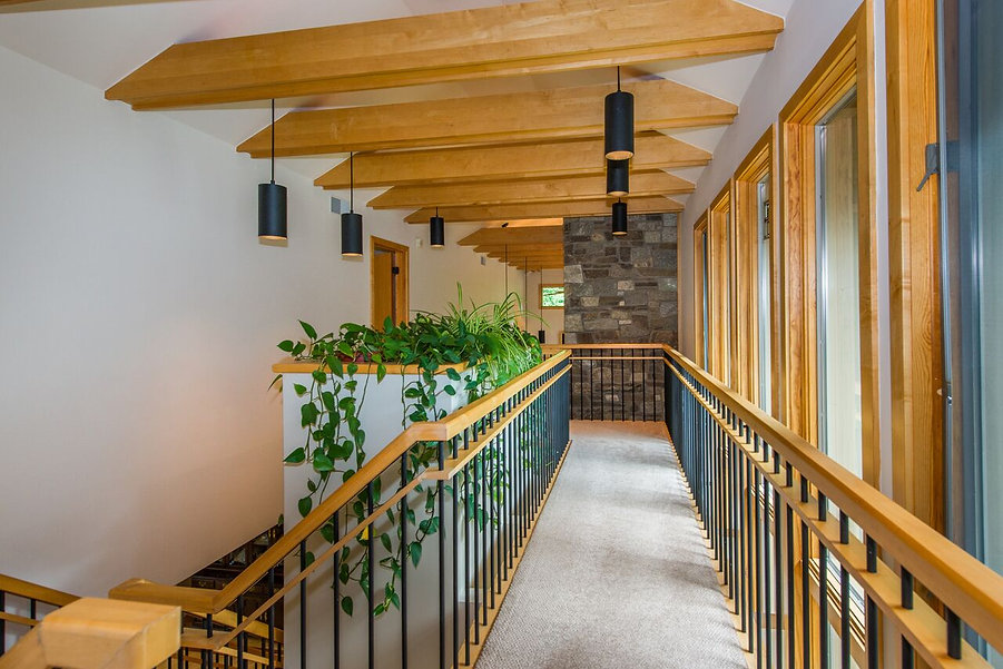 Stunning hallway by home remodelers in Upper Saddle River, NJ