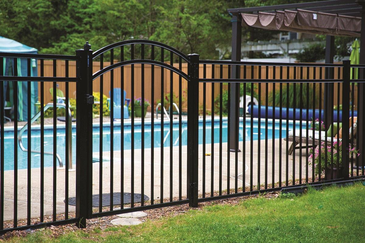 Pool - aluminum fence installation Franklin Lakes, NJ