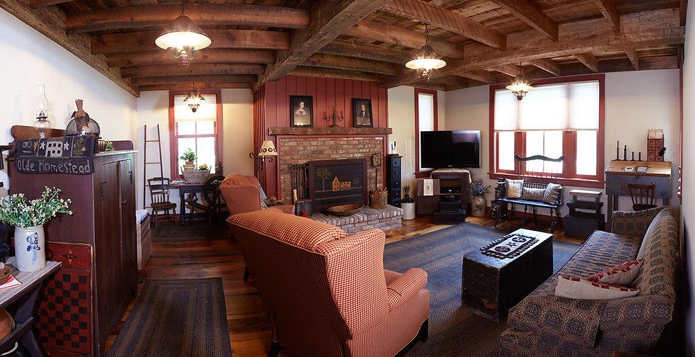 Inside shot by custom home builders in North Caldwell, NJ
