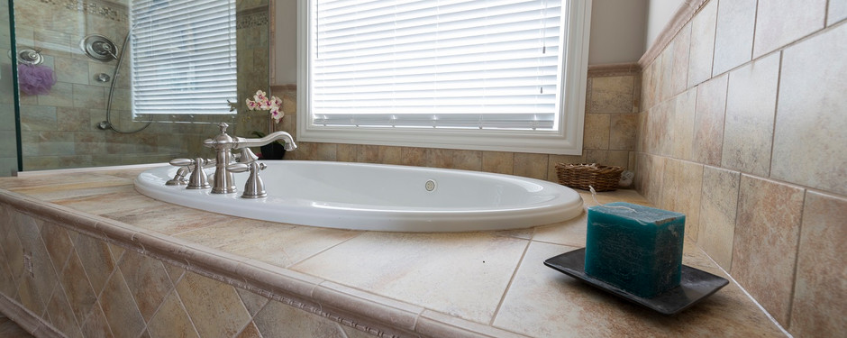 Carefully designed bathroom by home builders in Upper Saddle River, NJ