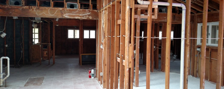 Beautiful attic being made by home remodelers in Kinnelon, New Jersey