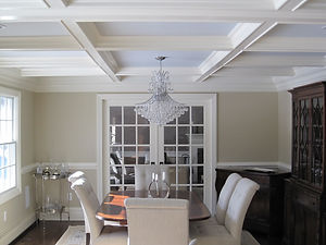 Amazing dining room by general contractors near me in Upper Saddle River, NJ