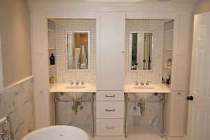 Outstanding bathroom by home builders in Upper Saddle River, NJ