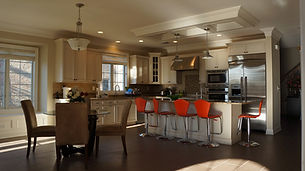Comfortable kitchen made by home remodelers in Ridgewood, NJ