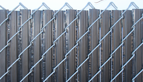 Winged Privacy Slats