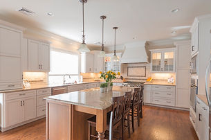 Detailed kitchen by home remodelers in North Caldwell, NJ