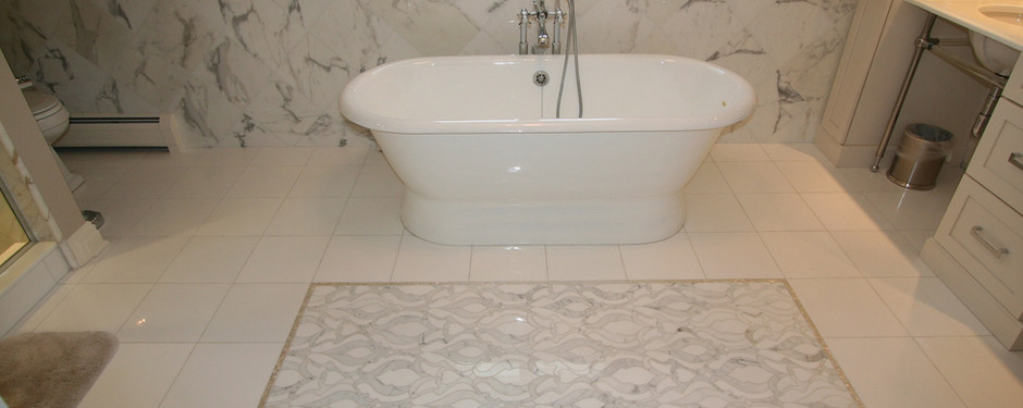 Incredible bathroom by general contractors near me in Upper Saddle River, NJ