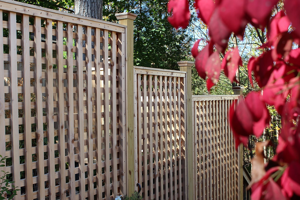 Wood fence - DIY gence, how to build a fence in Hunterdon County NJ