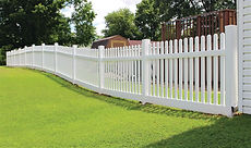 Vinyl fence installation in Orange County, NY