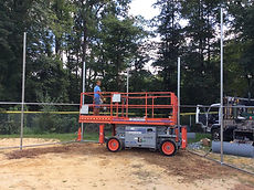 Commercial chain link fence installation Ramsey NJ