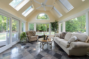 Living room by home builders in North Caldwell, NJ