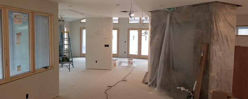 House being built by custom home builders in Ridgewood, NJ