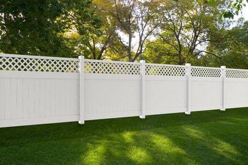 ActiveYards vinyl fence in Tewksbury NJ