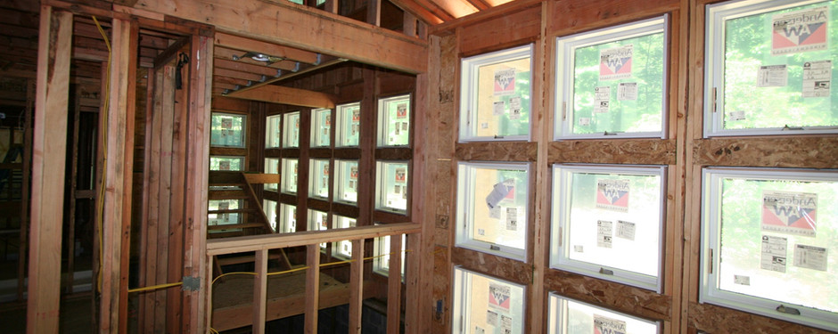Amazing attic image by home builders in Upper Saddle River, NJ