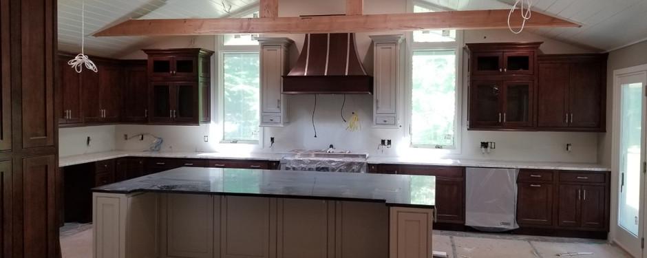 Kitchen almost done by general contractors near me in Kinnelon, NJ