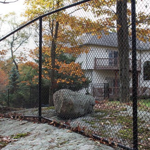 Top chain link fence in Essex Fells NJ