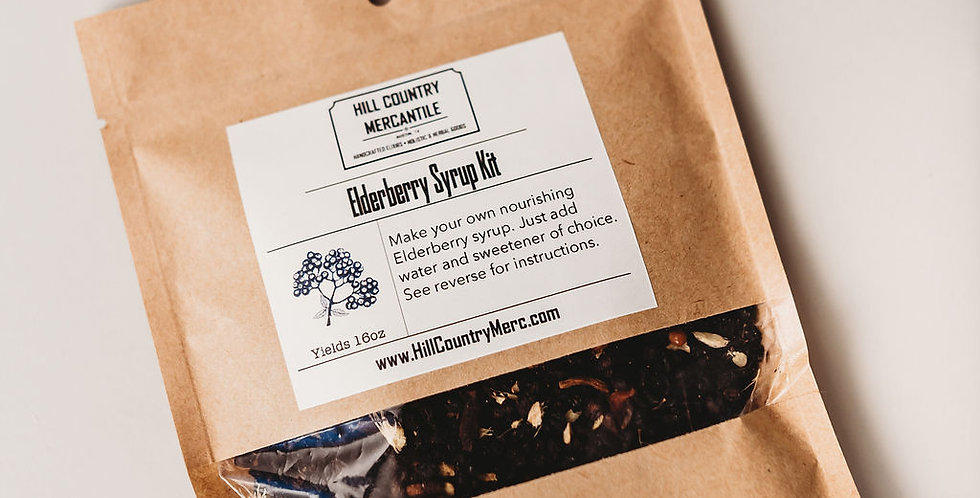 DIY Elderberry Kit