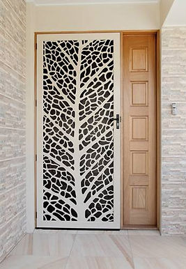 Leaf Vein Decoview Security Screen door Southbound Security Bunbury and Busselton