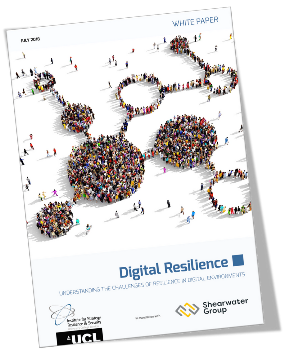 """""""Digital Resilience"""" a white paper published by ISRS in association with Shearwater Group"""