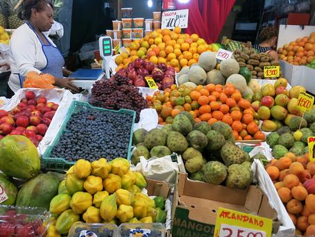 Precio actualizado del mercado de frutas en Chile