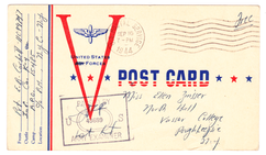Postcard September 16 1944