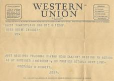 Telegram Sudie Zinsser