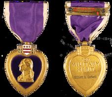 Elliot R. Corbett II - Purple Heart