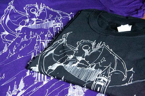 Dungeons and Dragon Unisex t-shirt - Dragon print