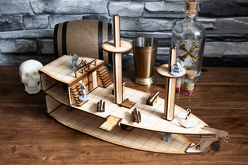 Dungeons and Dragons Pirate Ship