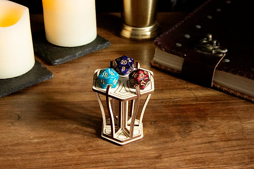 Dungeons and Dragons D20 Plinth - Praise the natural 20
