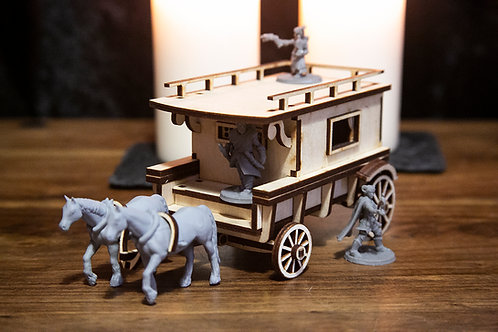 Expansion Kit Only: Cabin - Dungeons and Dragons Wagon Add-on