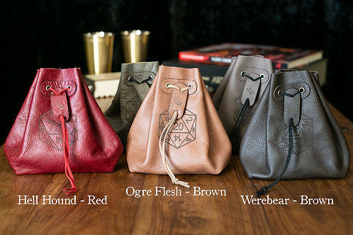 Customizable Leather Bag