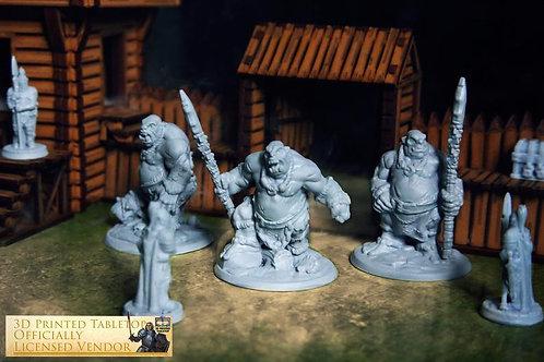 Ogres RPG 3D Printed Miniature