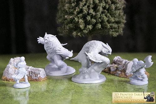 Owlbear RPG 3D Printed Miniature